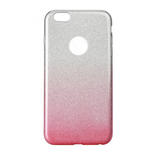 Forcell SHINING Case for iPhone 6/6S clear/pink