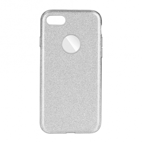 Forcell SHINING Case for iPhone 7 / 8 / SE 2020 silver