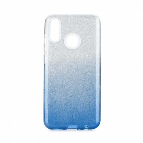 Forcell SHINING Case for Huawei P Smart 2019 clear/blue