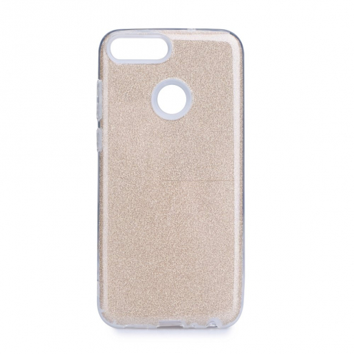 Forcell SHINING Case for Huawei P Smart 2019 gold