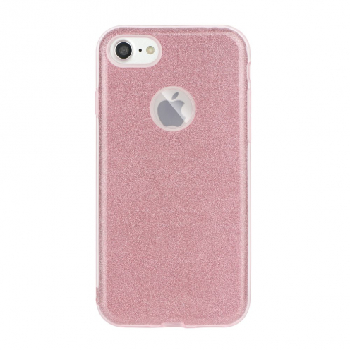 Forcell SHINING Case for Huawei P40 LITE E pink