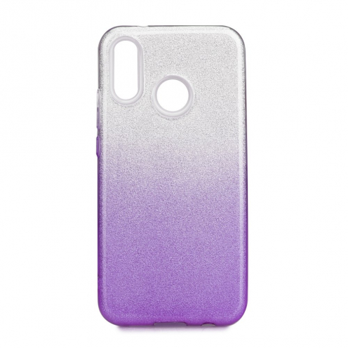 Forcell SHINING Case for Huawei P20 LITE Transparent/violet