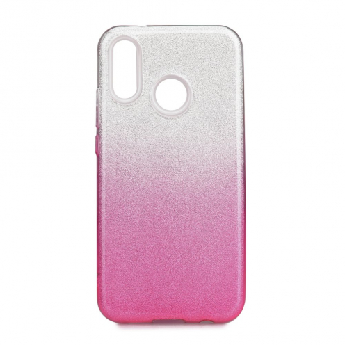 Forcell SHINING Case for Huawei P20 LITE clear/pink