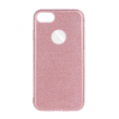 Forcell SHINING Case for iPhone 7 / 8 / SE 2020 pink