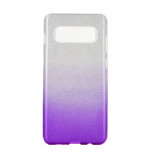Forcell SHINING Case for Samsung Galaxy S20 Plus / S11 clear/violet