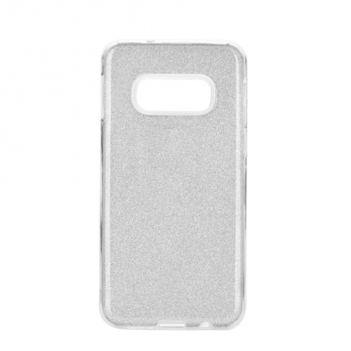 Forcell SHINING Case for Samsung Galaxy S20 / S11e silver