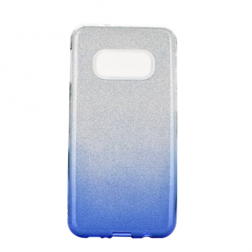 Forcell SHINING Case for Samsung Galaxy S20 / S11e clear/blue