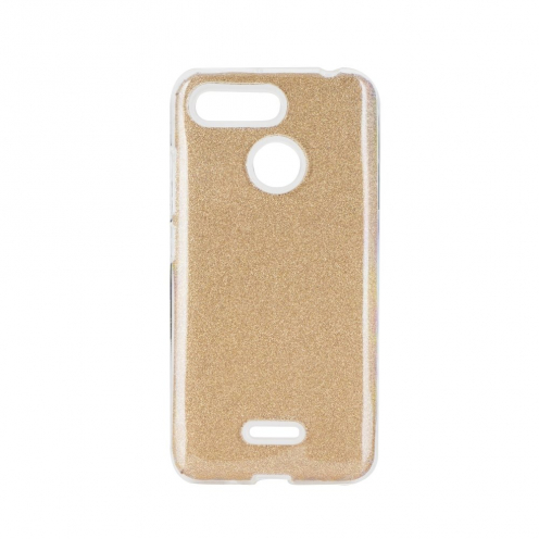 Forcell SHINING Case for Xiaomi Redmi 7A gold