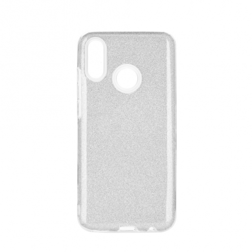 Forcell SHINING Case for Huawei P Smart Z silver