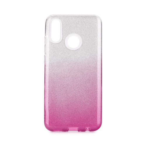 Forcell SHINING Case for Huawei P Smart Z clear/pink