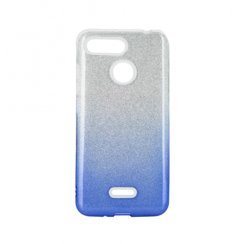 Forcell SHINING Case for Xiaomi Redmi 9 clear/blue