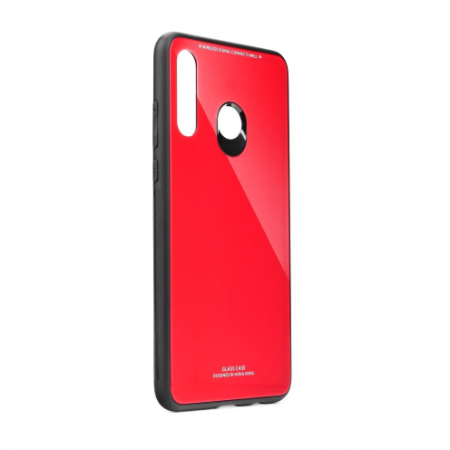 GLASS Case for Huawei Y6P red