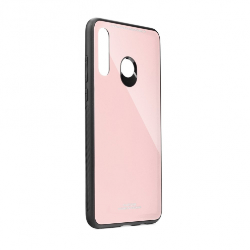 GLASS Case for Huawei Y5P pink