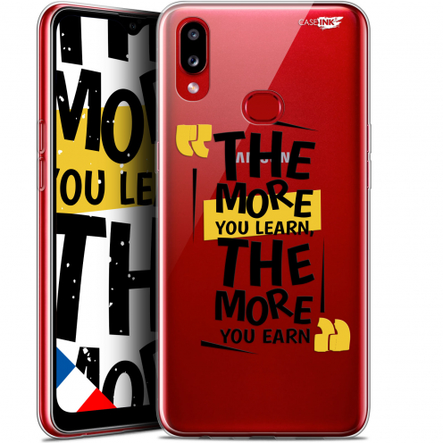 """Extra Slim Gel Samsung Galaxy A10S (6.1"""") Case Design The More You Learn"""