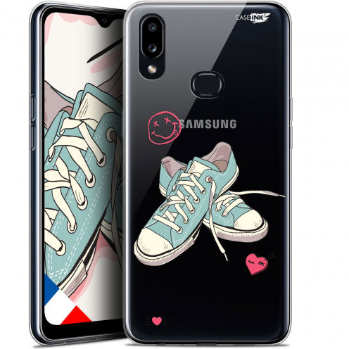 """Extra Slim Gel Samsung Galaxy A10S (6.1"""") Case Design Mes Sneakers d'Amour"""