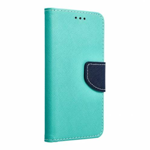 Fancy Book case for Samsung Galaxy S5 (G900)mint/navy