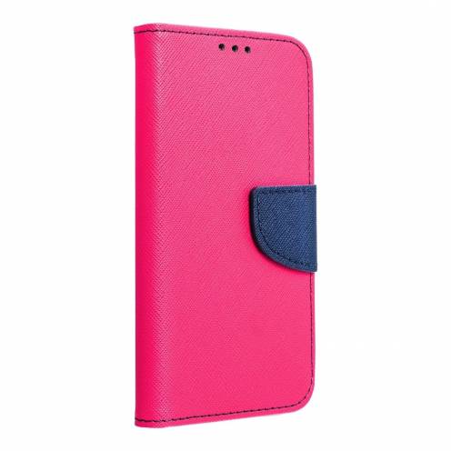 Fancy Book case for Apple iPhone 5/5S/5SE pink/navy