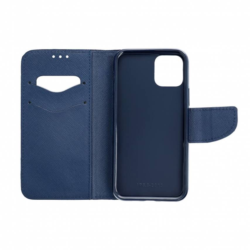 Fancy Book case for Apple iPhone 7 / 8 / SE 2020 pink/navy