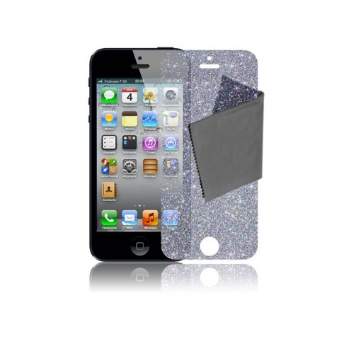 Pack of 5 Clubcase® Diamond Screen protector for iPhone 5 / 5S / SE