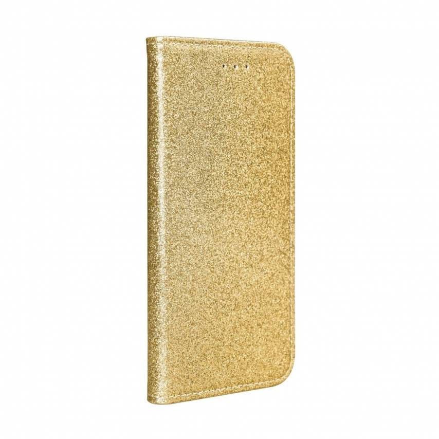 SHINING Book for Samsung A40 gold