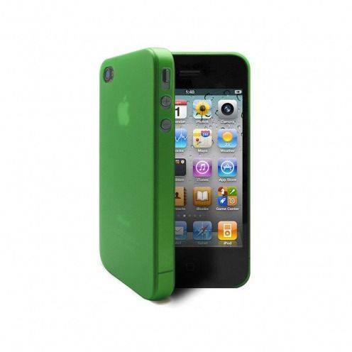 Ultra thin Case 0.3 mm Frost iPhone 4 / 4 green