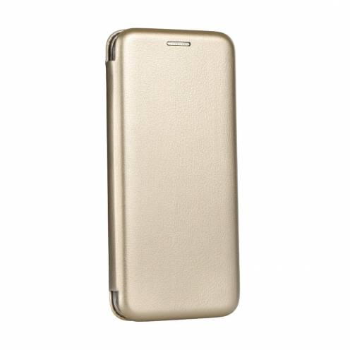 Book Forcell Elegance for Samsung A6 Plus 2018 gold
