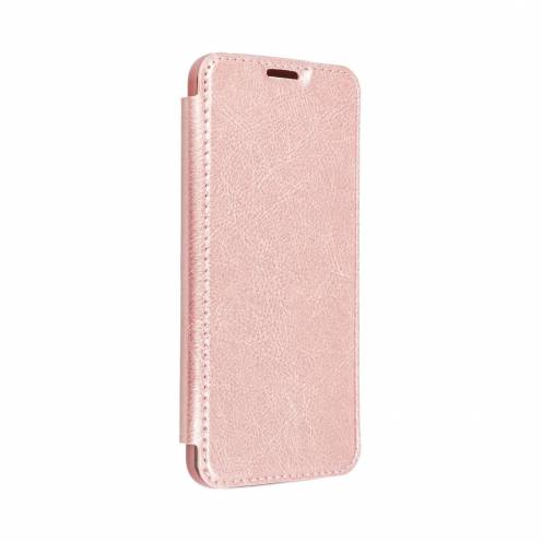 Forcell ELECTRO BOOK case for Huawei Y6P rose gold