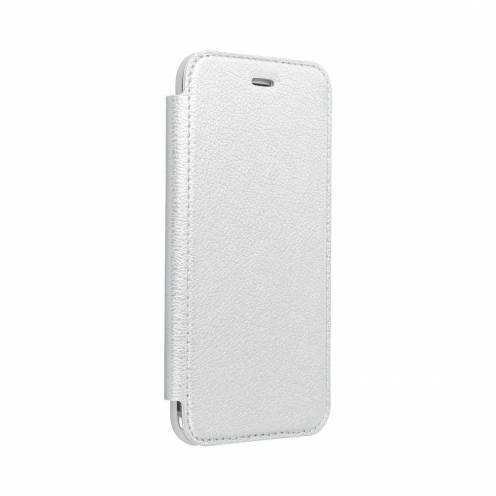 Forcell ELECTRO BOOK case for Huawei P40 LITE E silver