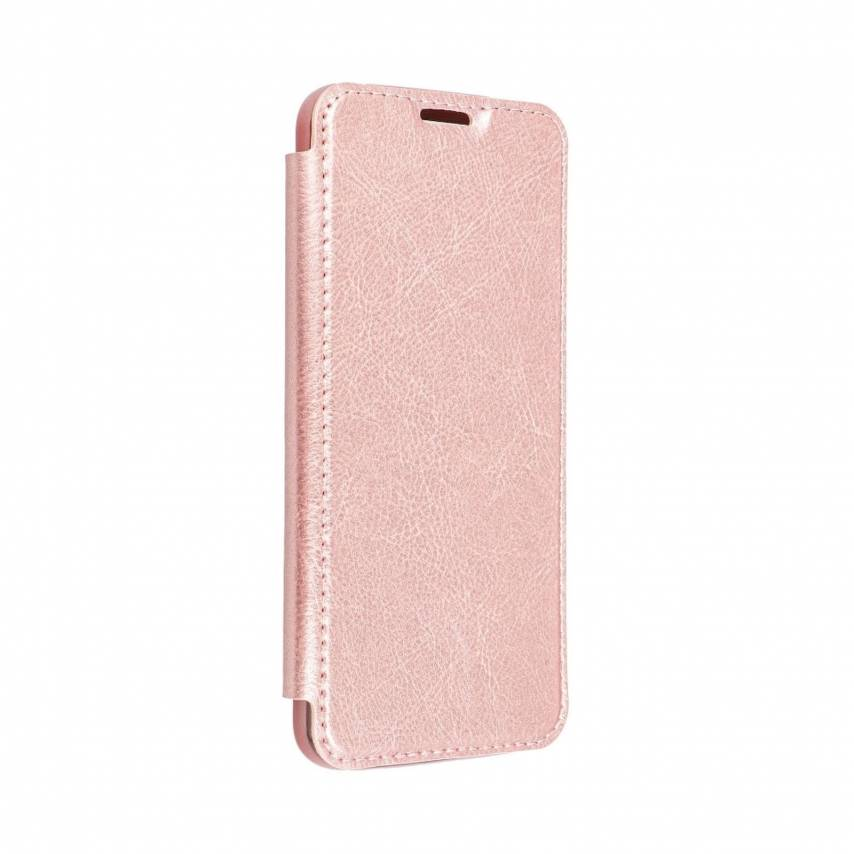 Forcell ELECTRO BOOK case for Samsung A40 rose gold