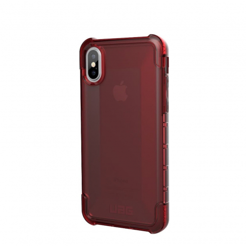 Urban Armor Gear® iPhone X / XS Shockproof Case - UAG Plyo Rouge