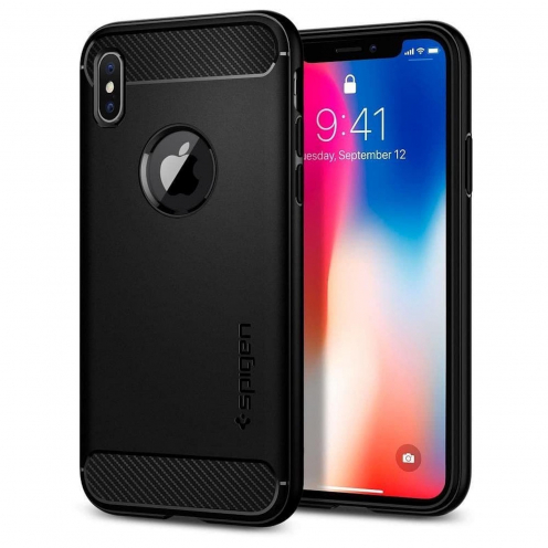SPIGEN Rugged Armor SAMSUNG S8+ PLUS black