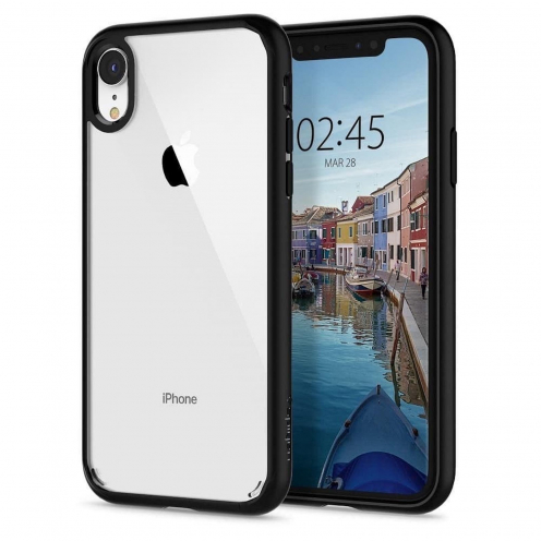 SPIGEN Ultra Hybrid for Iphone XR matte black