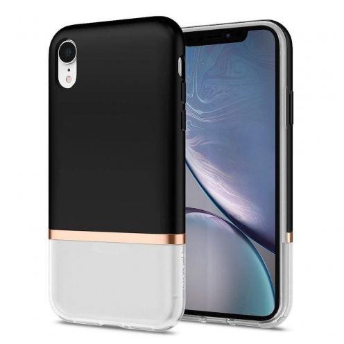 SPIGEN La Manon Jupe for Iphone XR milk black