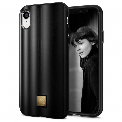 SPIGEN La Manon Classy for Iphone XR black