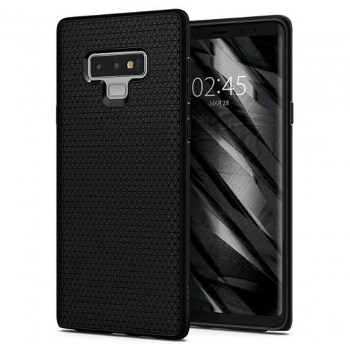 SPIGEN Liquid Air SAM NOTE 10 PLUS matte black