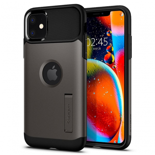 SPIGEN Slim Armor for Iphone 11 PRO MAX ( 6.5 ) gunmetal