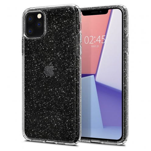 SPIGEN Liquid Glitter Crystal for Iphone 11 PRO Max ( 6.5 ) transparent