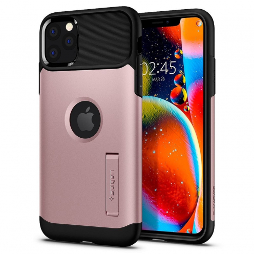 SPIGEN Slim Armor for Iphone 11 PRO Max ( 6.5 ) rose gold