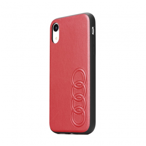 Original AUDI Leather Case AU-TPUPCIP11M-TT/D1-RD iPhone 11 Pro Max red