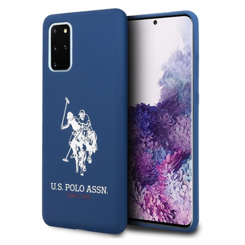 Original faceplate case US Polo© USHCS67SLHRNV SAM S20 Plus navy blue