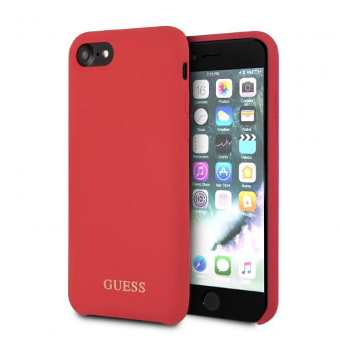 Original faceplate case GUESS GUHCI8LSGLRE iPhone 7 red