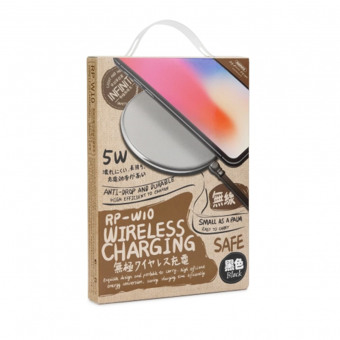 REMAX wireless charger RP-W10 black