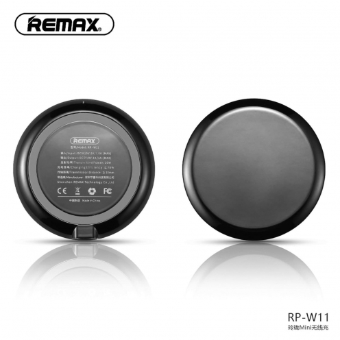 REMAX wireless charger Linion Quick Charge Qi RP-W11 black