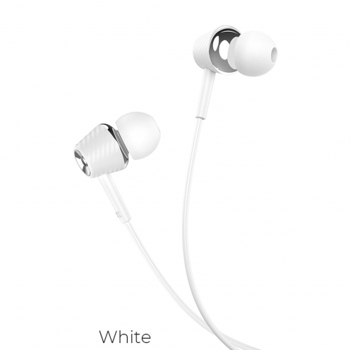 Hoco® eaphones Graceful universal with mic M70 white
