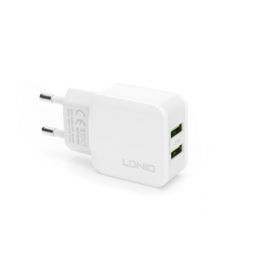 Wall Charger LDNIO A2202 with double USB socket 2,4A