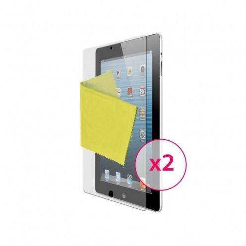 Clubcase ® Anti-Fingerprints HQ iPad screen protector 2-Pack