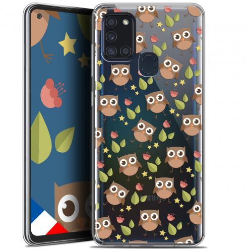 "Extra Slim Gel Samsung Galaxy A21S (6.5"") Case Summer Hibou"
