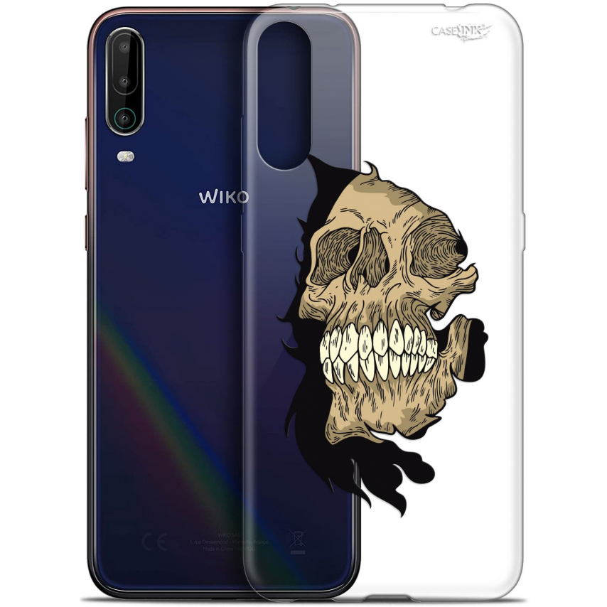 "Extra Slim Gel Wiko View 4 (6.5"") Case Design Craneur"