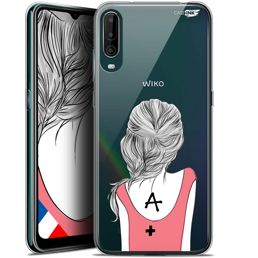 """Extra Slim Gel Wiko View 4 (6.5"""") Case Design See You"""