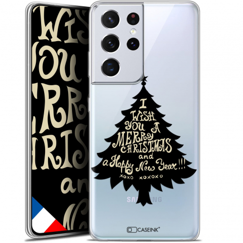"Extra Slim Gel Samsung Galaxy S21 Ultra (6.8"") Case Noël 2017 XOXO Tree"